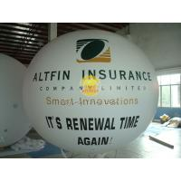 Quality Huge Waterproof advertising balloons with two sides digital printing for Celebration day for sale