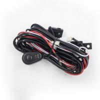 Quality 2.5 Meter Automotive LED light bar Wiring Harness with Connector Remote Controller Switch Control for car for sale