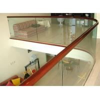 Quality Top-grade Commercial Buildings Balustrade glass balustrade Tempered glass for railing for sale