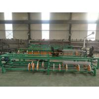 Quality 3m width full automatic single wire/double wire feeding chain link fence machine for sale