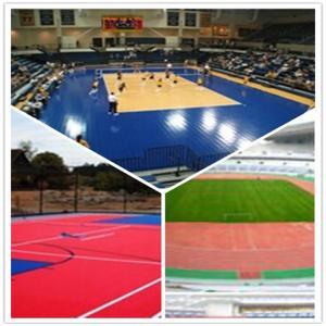 Quality 3W outdoor basketball court / suspend interlocking / pvc floor for sale
