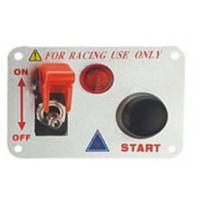 Quality Automotive Racing Switch Panel With Flip Up Cover , Racing Toggle Switch for sale