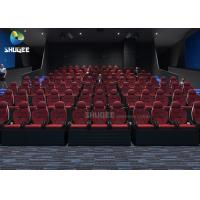 Quality Large Arc Screen 5D Movie Theater For Big Commercial Scenic Spot With 104 5D Cinema Chairs for sale