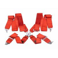 Quality Washable Car Safety Seat Belts Never Shrink / Distortion With 3 Inch Width for sale