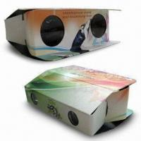 Quality Foldable Cardboard Binoculars with with Lightweight, Made of Paper Material for sale