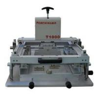 Quality Manual high precision screen printing machine T1000 for sale