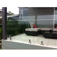 Quality Hot-selling stainless steel spigot frameless glass railing/ glass balustrade for sale