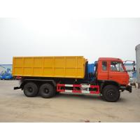 Quality Dongfeng 153 6*4 16cbm hook lifter garbage truck for sale
