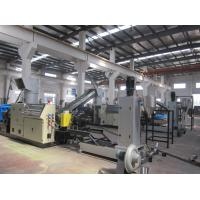 Quality HDPE / PP Plastic Granulator Machine With Simens PLC Control CE / SGS for sale