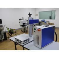 Quality EZCAD Software Fiber Laser Marking Machine 50W Laser Power For Integrate Circuits for sale