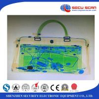 Quality Secu Scan Big Size Luggage X Ray Machines Penetration 34mm Steel for sale