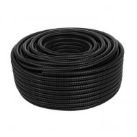 Quality Black PE Plastic Bellows Polyethylene Threading Hose Wire And Cable Protection Sleeve for sale
