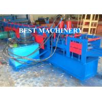 Buy Solar Rack Angle Shape Automatic Roll Forming Machine Stiffen Channel at wholesale prices