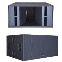 Dual 18'' Subwoofer 2500W RMS 5000W Peak discos nightclubs halls conference centers and commercial events power speaker for sale