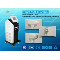 Quality Full Body 810nm Diode Laser Hair Removal Machine Non - Channel With CE Approved for sale
