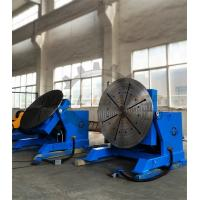 2000kg Rotary Welding Table Positioner with Rotating / Tilting Motor and Gear