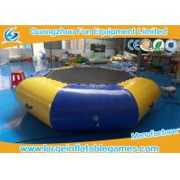 Quality Airtight Sealed Inflatable Water Park Games 3 Years Warrant Commercial Grade for sale