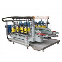 Quality 1600 mm Round Glass Straight Line Edging Machine With Diamond Wheels for sale