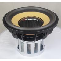 Neodymium Car Subwoofer Speakers , High Power Competition 15 Inch Subwoofer for sale