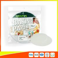 """Quality Silicone 8 """" Kitchen Non Stick Baking Sheet / Parchment Paper For Cooking for sale"""