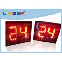 Quality 12 Inch 300mm 24 Second Shot Clock, Sports Countdown Timer Digital 88 X 2 for sale
