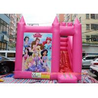 Quality Commercial Bounce House Slide Inflatable Jumping Bouncy Castle For Play Center for sale