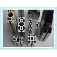 Quality Black Anodised V - Slot Structural Structural Aluminum Profiles for Assembly Line Profile for sale
