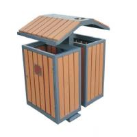 Quality WPC wood plastic composite waste bins RMD-D3 for sale