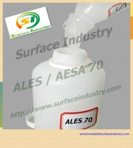 China Ammonium Fatty Alcohol Ethoxylate Sulfate 70%,ALES / AESA Texapon N70 on sale