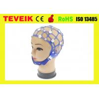 Quality High Sensor EEG Cap 20 Leads PE Material Snap 1 Year Warranty Without Electrodes for sale