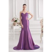 China Charming Purple Sleeveless Womens Party Dresses on sale