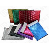 Quality Custom Printed Metallic Bubble Mailer Shipping Envelopes With Bubble Wrap for sale