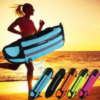 Quality Bright Color Tactical Bike Waist Bag For Phone , Waterproof Fanny Pack For Running for sale