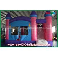 Quality Giant 0.55mm PVC Inflatable Bouncer Dream Princess Castle Trampoline for sale