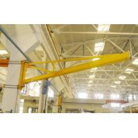 Quality 180 Degree Wall Mounted Workshop Jib Crane with Radio Controlled Pendent Control for sale