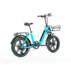 China Range 35 - 50km Women'S Electric Folding Bike , Collapsible Electric Bike Max Load 120KG on sale