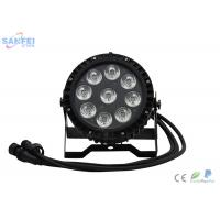 Quality LED 10W*9pcs Par Light for Stage Events / RGBW 4in1 Waterproof Par Light / IP65 for sale