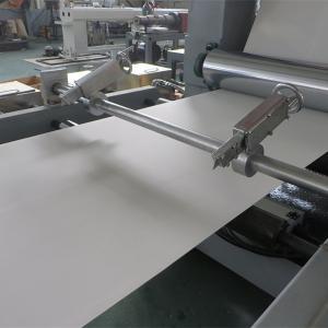 Quality CE Standard PVC Sheet Machine / PVC Edge Banding Sheet Extrusion Machine   Plastic Sheet Machine for sale