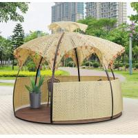 Quality China leisure furniture outdoor flower garden rattan tents 1111 for sale