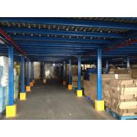 Quality Durable Industrial Mezzanine Floors For Warehouse Storage Loading Capacity 300-1000kg/㎡ for sale