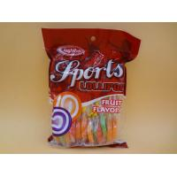 Quality Mix Fruity Swirl Lollipops Healthy Hard Candy Round Lowest Calorie For Adults for sale