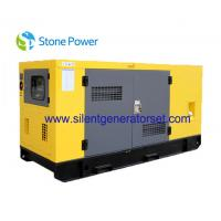 Quality Soundproof Lovol Electric Power Diesel Generation 33KW 41KVA 50hz Frequency for sale