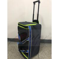 Quality Blue Rolling Insulated Cooler Bag , Insulated Wheeled Camping Cooler Bag , Thermal Insulated Trolley Bag for sale