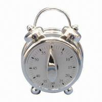 Quality Alarm Clock/Kitchen Timer, Made of Plastic for sale