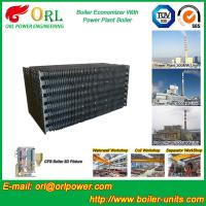 Quality Corrosion Resistance Condensing Economizer In Boiler , Economiser In Boiler for sale