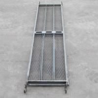 Quality Galvanized/painted scaffolding mesh steel plank used for construction for sale