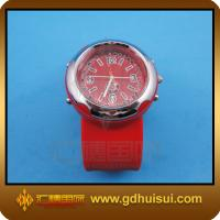 Quality red silicone sport watch for sale