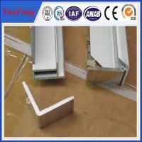 Quality Hot! customized of design of extrusion press l channel solar panel frame materials for sale