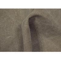 Quality Anti - Cracking Washed Canvas Fabric 32 X 22 Density For Sports Shoes for sale