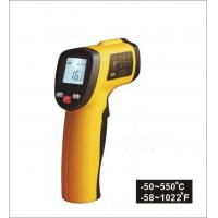 Temperature range -50 ~ 550℃ Non Contact Laser Infrared Thermometer, Digital and portable for sale